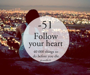 follow, heart, and love image