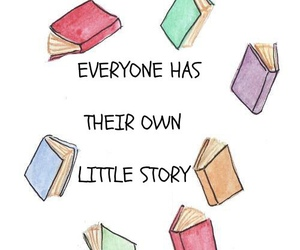 book, story, and quote image