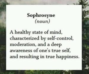 quote and sophrosyne image
