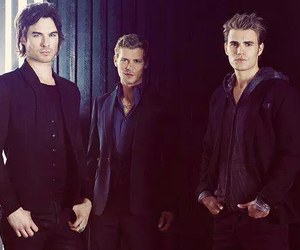 the vampire diaries, klaus, and paul wesley image