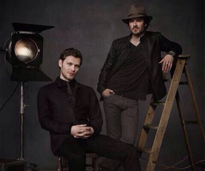 joseph morgan, ian somerhalder, and tvd image