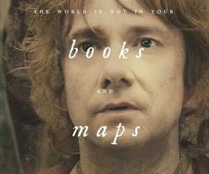 the hobbit, bilbo baggins, and book image