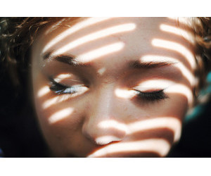 sunlight, girl, and grunge image