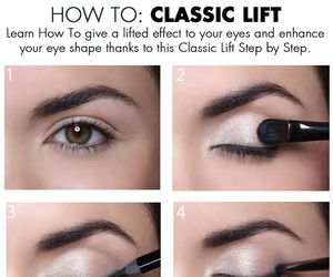 diy, do it yourself, and eye makeup image