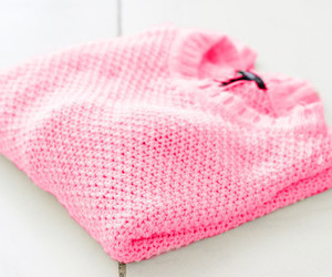 pink, sweater, and winter image