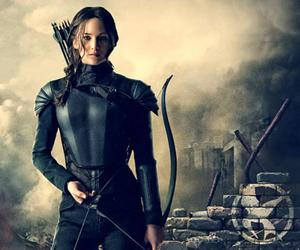 katniss, mockingjay, and hunger games image