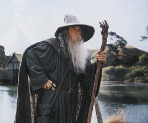 gandalf, lord of the rings, and LOTR image