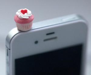 iphone, cupcake, and phone image