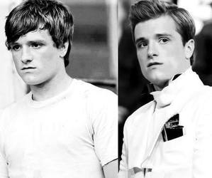 josh hutcherson, peeta mellark, and the hunger games image
