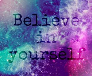 believe and yourself image