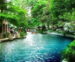 nature, river, and San Antonio image