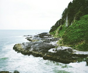 nature, landscape, and ocean image