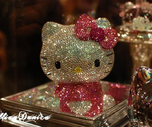awesome, diamonds, and hello kitty image