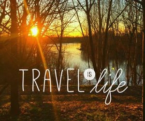 life, travel, and sun image
