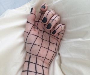 grunge, black, and hand image