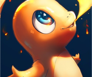 pokemon, fire, and ​charmander image