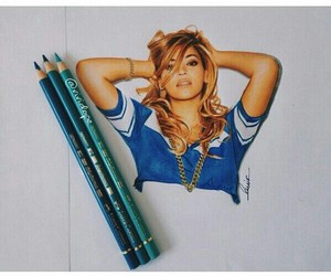 beyoncé, queen bey, and drawing image
