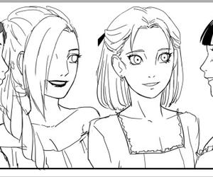 anime, brown hair, and ino yamanaka image