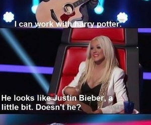 funny, harry potter, and justin bieber image