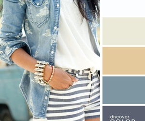 color, jeans, and fashion image
