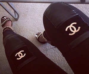 style, chanel, and pants image