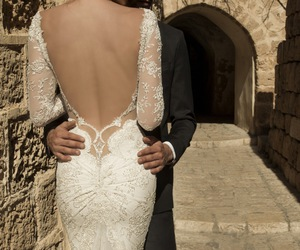 bride, dress, and la dolce vita image