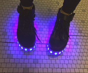 shoes, grunge, and light image