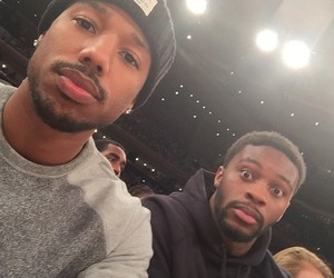 actor, handsome, and michael b. jordan image