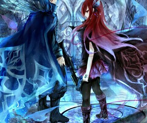 fairy tail, jerza, and erza image