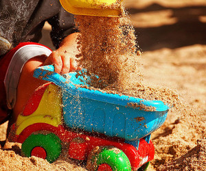 child, photography, and sand image