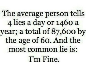 lies, quote, and fine image