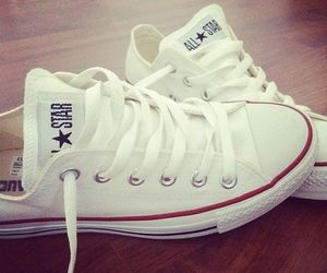 all star, converse, and white converse image