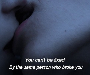 broken, girl, and feelings image