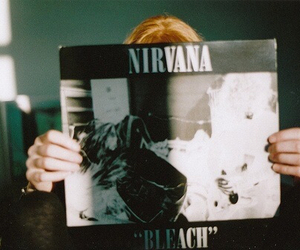 nirvana, bleach, and music image