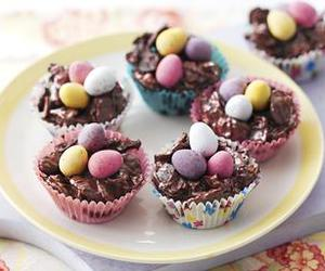 food, chocolate, and easter image