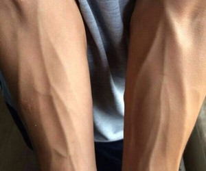 arms, veins, and guy image