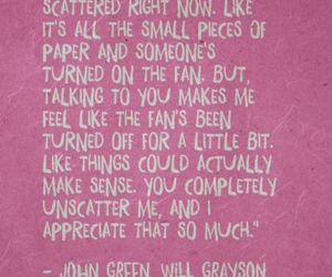john green, quote, and david levithan image