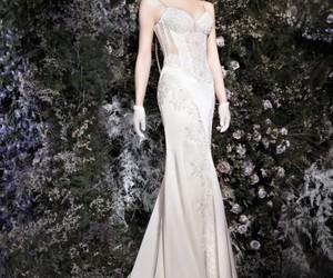 bride, dress, and jessica image