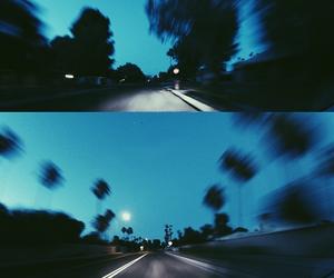 grunge, blue, and night image