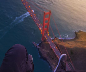 bridge, san francisco, and sea image