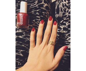 nails, red, and tous image