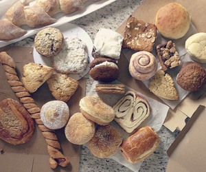 baked goods, food, and pastries image