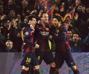 Barcelona, leo messi, and msn image