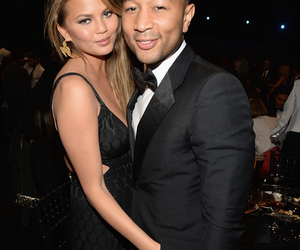 black dress, event, and john legend image