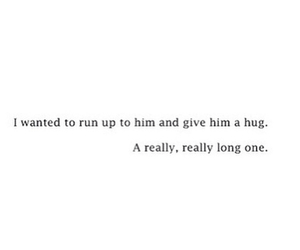 hug, quote, and tumblr image