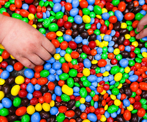 candy, colors, and m&ms image
