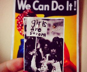 we can do it, feminismo, and dia da mulher image