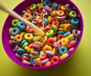 food, cereal, and milk image