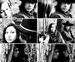twd and carl grimes image
