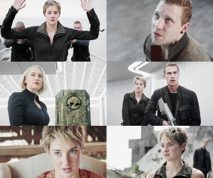 four, insurgent, and jeanine image